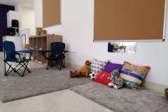Cozy Book Area